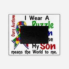 D Son Means The World To Me Autism Picture Frame