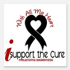 "CURE Square Car Magnet 3"" x 3"""