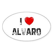 I * Alvaro Oval Decal