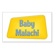 Baby Malachi Rectangle Decal
