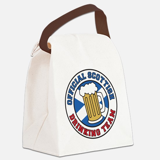 Official Scottish Drinking Team Canvas Lunch Bag