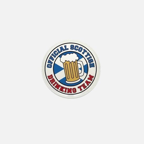 Official Scottish Drinking Team Mini Button