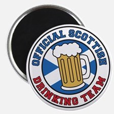 Official Scottish Drinking Team Magnet