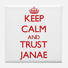 Keep Calm and TRUST Janae Tile Coaster