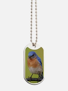 1100x1500eastern bluebird Dog Tags