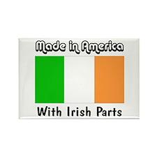Irish Parts Rectangle Magnet