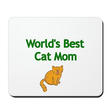 Worlds Best Cat Mom Mousepad