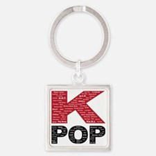 KPOP_artists Square Keychain