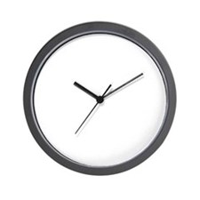 JUST FOR TODAY WHITE Wall Clock
