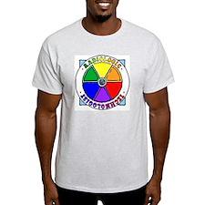 """Peace & Love"" Ash Grey T-Shirt"
