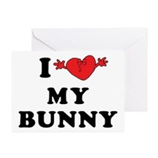 I Love My Bunny Greeting Cards (Pk of 10)