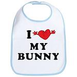 I Love My Bunny Bib