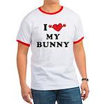 I Love My Bunny Ringer T
