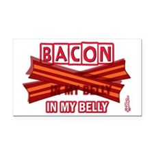 baconinmybelly-2012 Rectangle Car Magnet