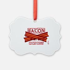 baconinmybelly-2012-short Ornament