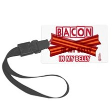 baconinmybelly-2012-short Luggage Tag