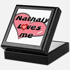 nathaly loves me Keepsake Box