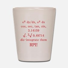 RPI Fight Song Shot Glass