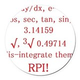 Rpi Round Car Magnets