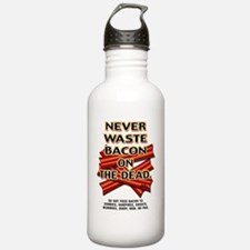 never-waste-bacon-2012 Water Bottle