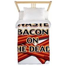 never-waste-bacon-2012a Twin Duvet