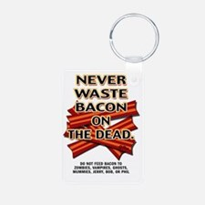 never-waste-bacon-2012a Keychains