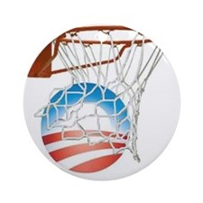 obo hoops1 Round Ornament