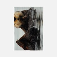 TabletCases_seaotter_1 Rectangle Magnet