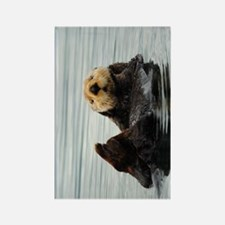 TabletCases_seaotter_2 Rectangle Magnet