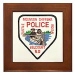 Chippewa Police Framed Tile