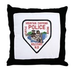 Chippewa Police Throw Pillow