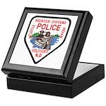 Chippewa Police Keepsake Box