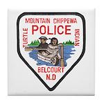 Chippewa Police Tile Coaster