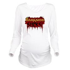 vdssucks1_DarkApp Long Sleeve Maternity T-Shirt
