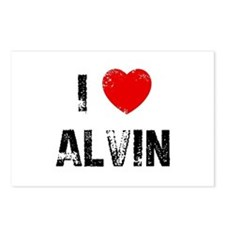 I * Alvin Postcards (Package of 8)