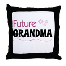 Future Grandma Throw Pillow