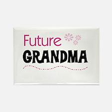 Future Grandma Rectangle Magnet