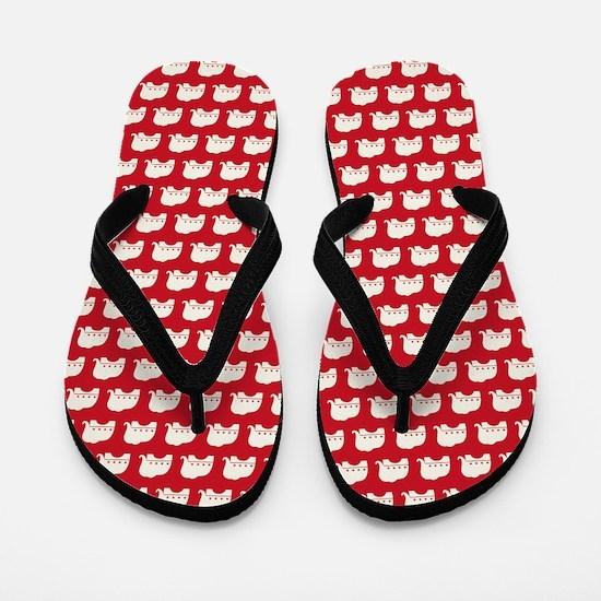 queenduvet - rep Flip Flops