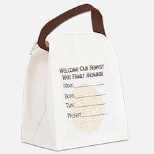 GREETING-CARD-wee-leprechaun-insi Canvas Lunch Bag