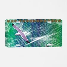 IRISH-SEA-CLUTCH-BAG Aluminum License Plate