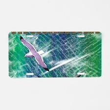 IRISH-SEA-TOILETRY-BAG Aluminum License Plate