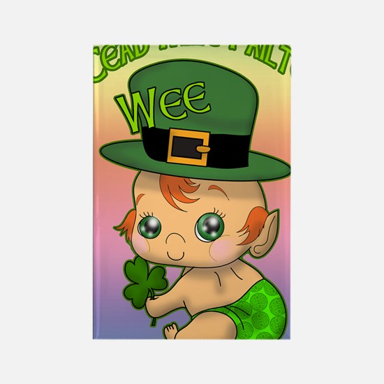 100-THOUSAND-WELCOMES-WEE-LEPRECH Rectangle Magnet