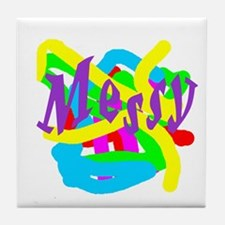 Messy Tile Coaster