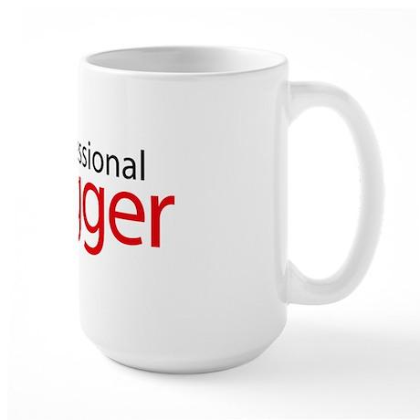 professional_vlogger Large Mug