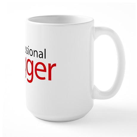 professional_blogger Large Mug