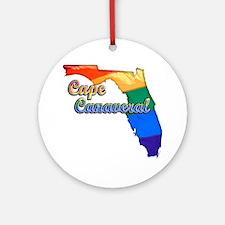 Cape Canaveral Round Ornament
