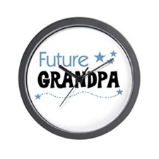 Future Grandpa Wall Clock