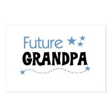 Future Grandpa Postcards (Package of 8)