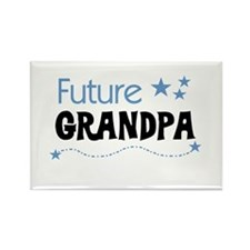 Future Grandpa Rectangle Magnet