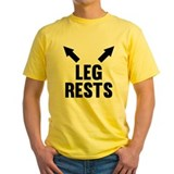 Dirty Mens Classic Yellow T-Shirts